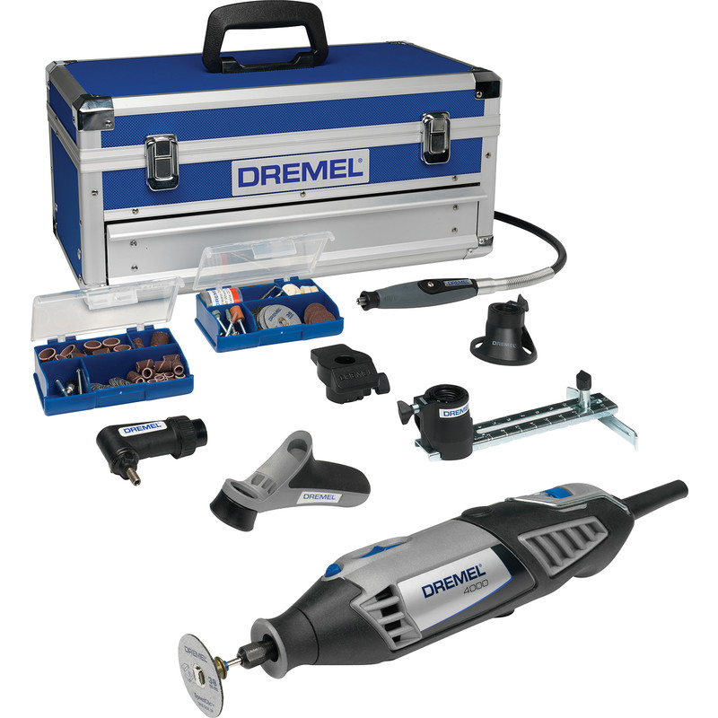 Dremel 4000-6 128 Piece Multi-Tool Platinum Kit