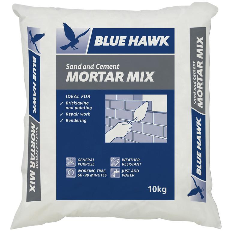 Blue Hawk Mortar Mix