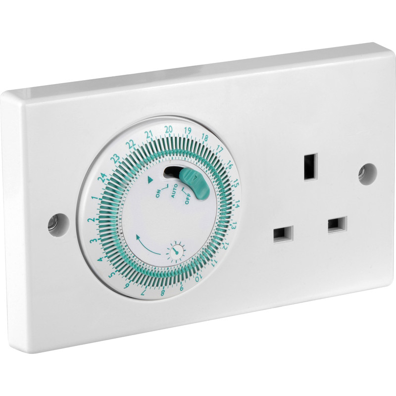 7 Day Electronic Wall Switch Timer