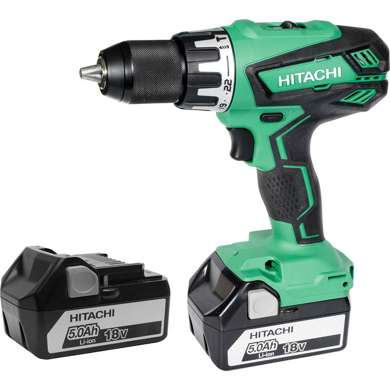 f2d3a501314 Hikoki DV18DGAL 18V Cordless Combi Drill 2 x 5.0Ah