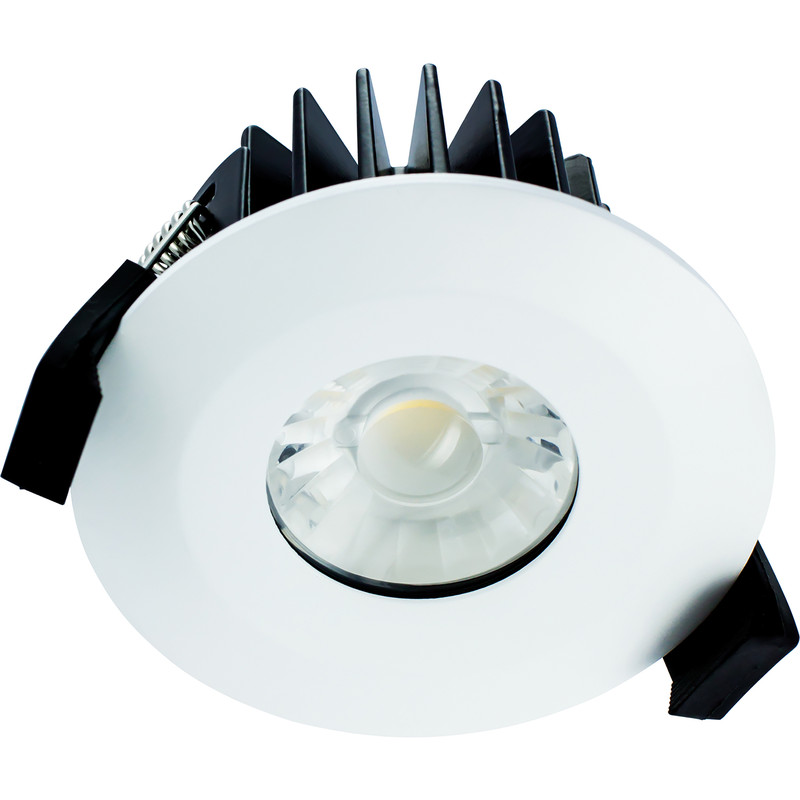 wholesale dealer ef662 4b8b5 Integral LED Integrated Fire Rated IP65 Downlight 6W 36° Cool White 440lm