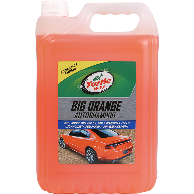 Turtle Wax Orange Shampoo