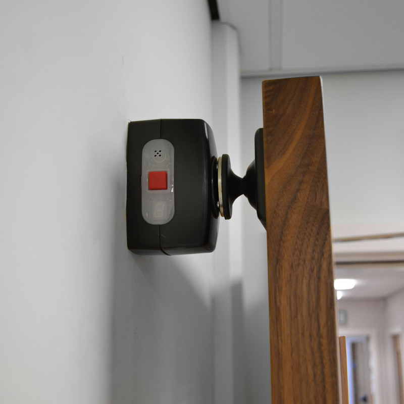Agrippa Sound Activated Battery Operated Door Holder