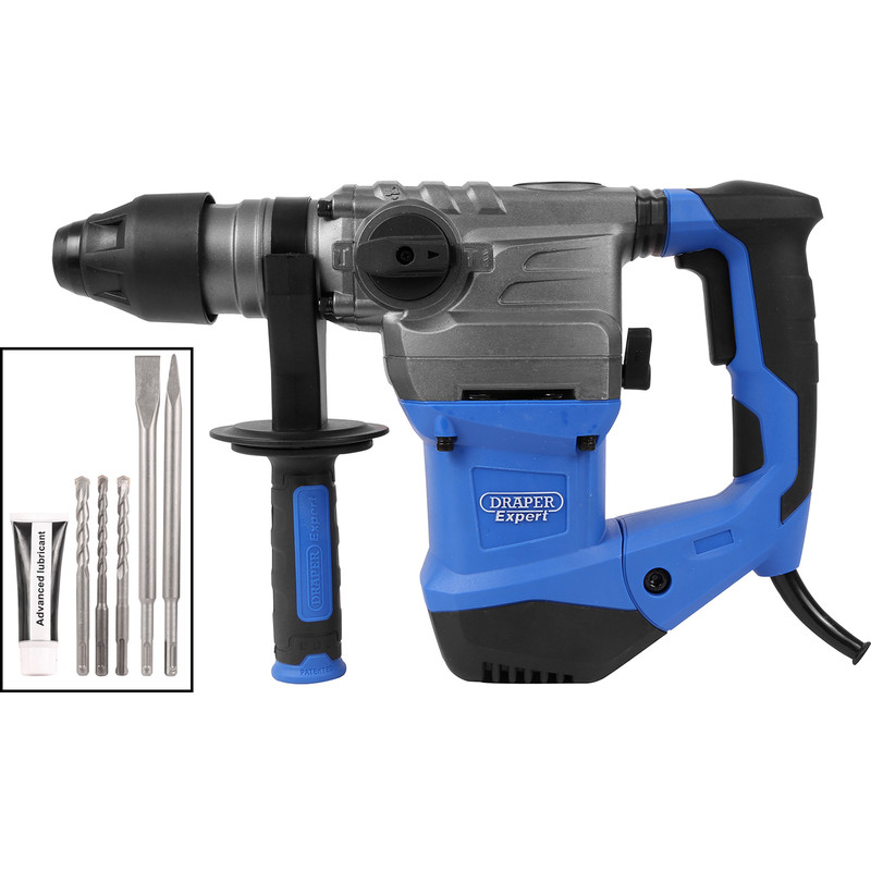 Draper Expert 1500W 4 function SDS Plus Rotary Hammer Drill