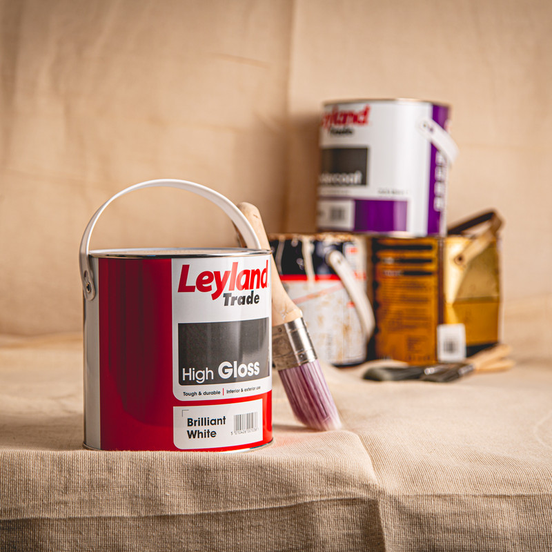 Leyland Trade High Gloss Paint