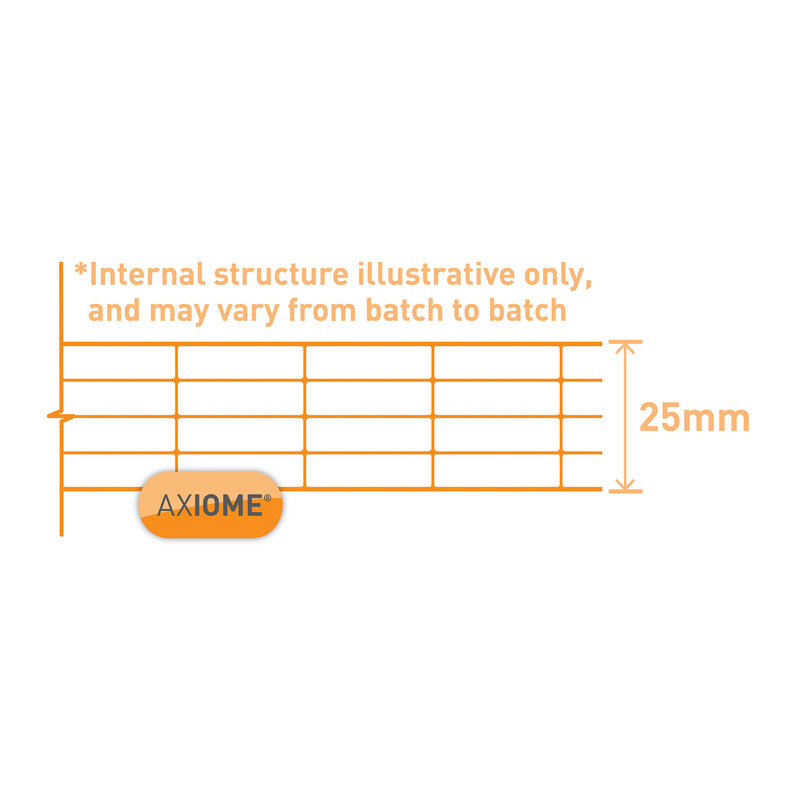 Axiome 25mm Polycarbonate Clear Fivewall Sheet