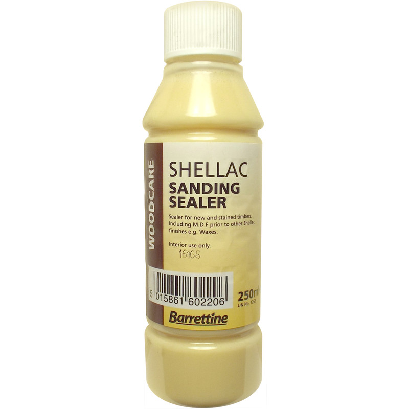 Natural Pale Shellac Sanding Sealer