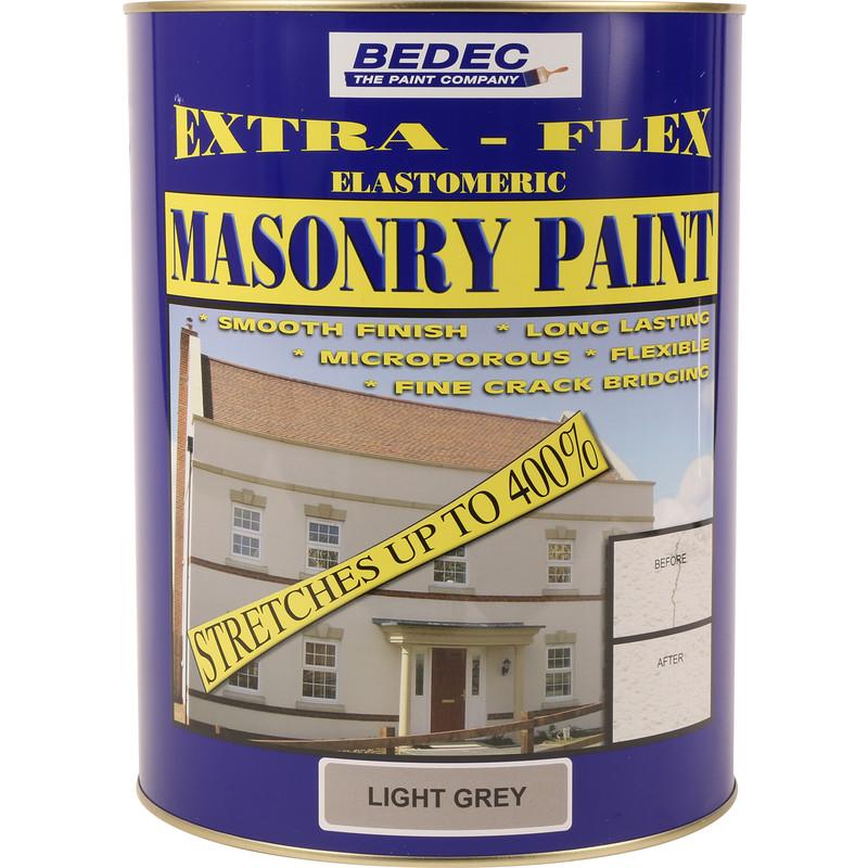 Bedec Extra-Flex Elastomeric Masonry Paint