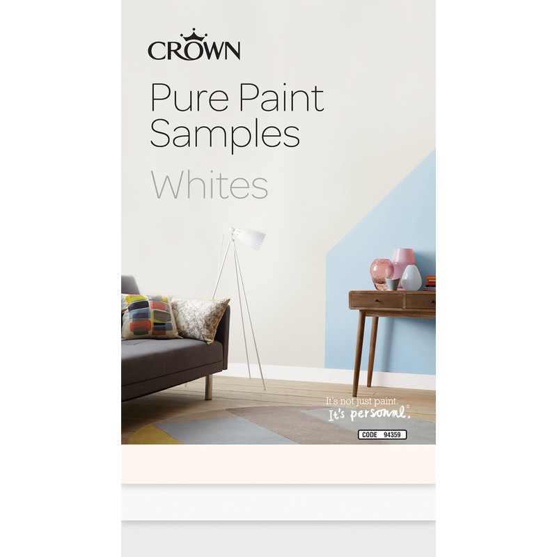 Crown Breatheasy Pure Paint Samples