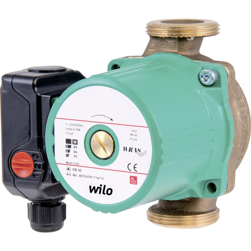 Wilo SB30 1 Phase Secondary Circulating Pump