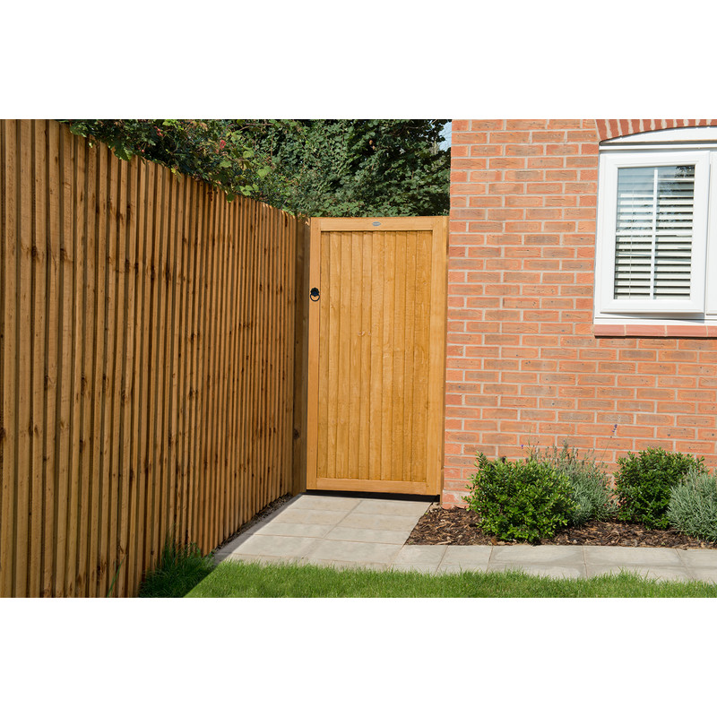 Forest Garden Dip Treated Board Gate