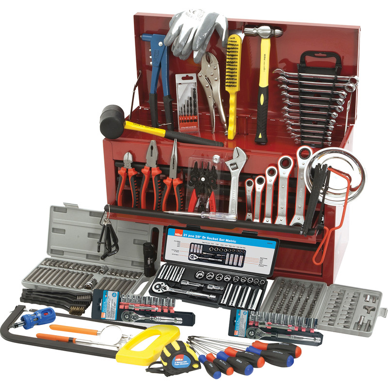 Hilka Tool Kit & Heavy Duty Tool Chest 270 Piece