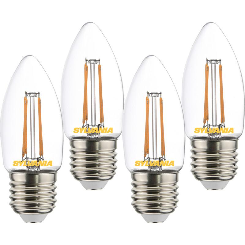 Sylvania LED Filament Clear Candle Lamp