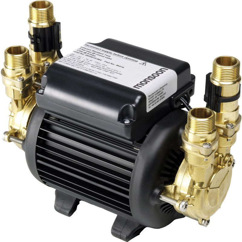 Stuart Turner Monsoon Standard Twin Shower Pump