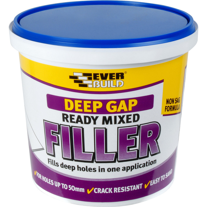 Deep Gap Ready Mixed Filler