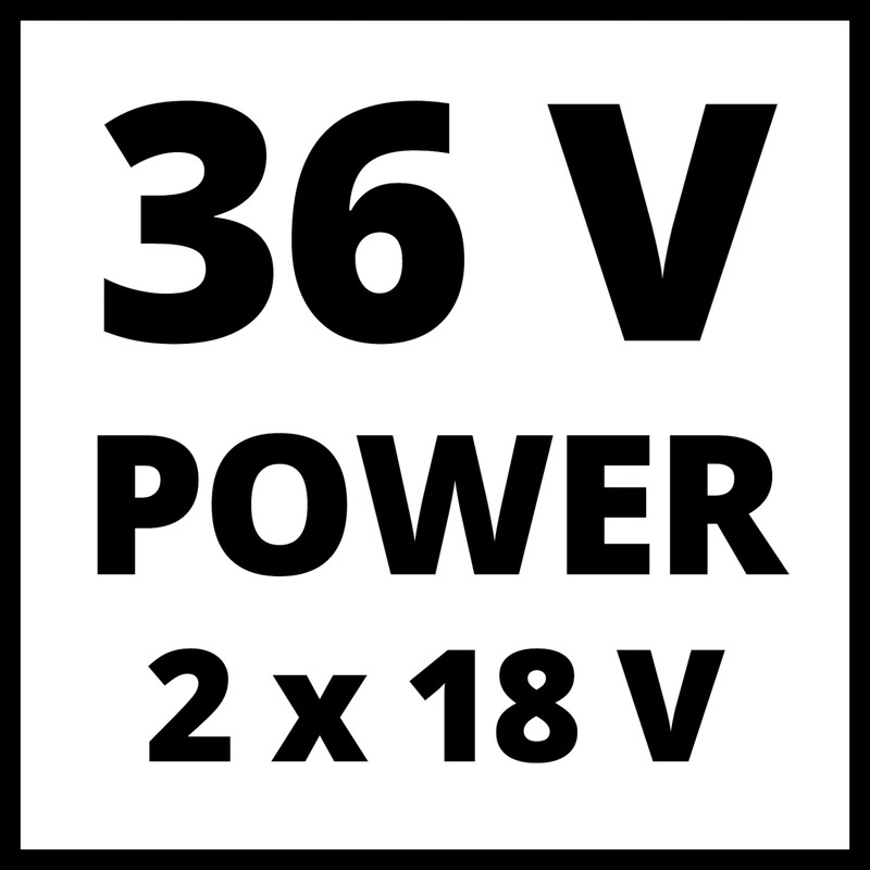 Einhell Expert Plus GE-CL 36/230 Li E-Solo 36V (2x18V) Cordless Blower Vac