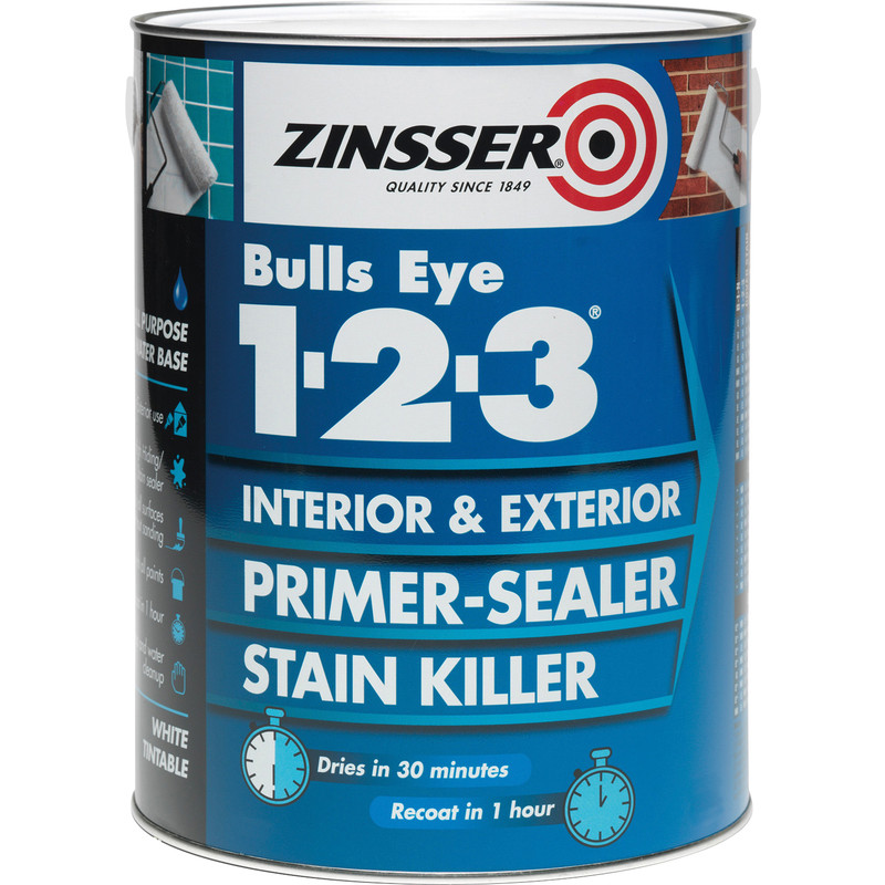 Zinsser Bulls Eye 123 Primer Sealer Paint