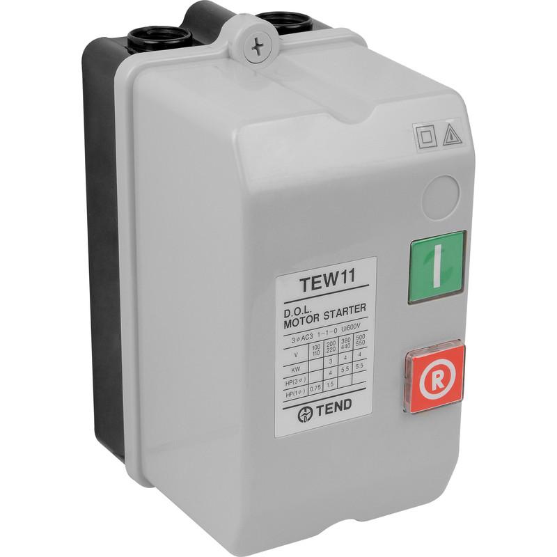 Dol starter 240v 3kw for 3 phase manual motor starter switch