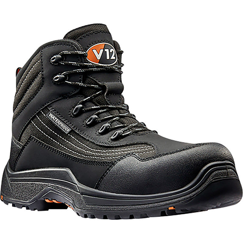 Caiman V1501 Waterproof Safety Boots Size 7