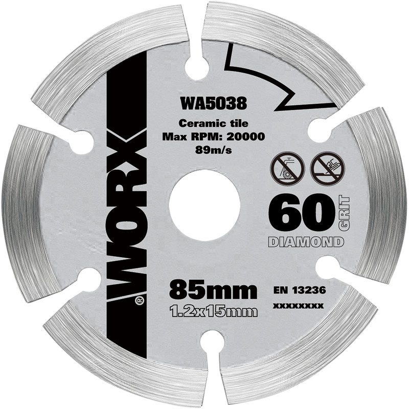 Worx Diamond Circular Saw Blade