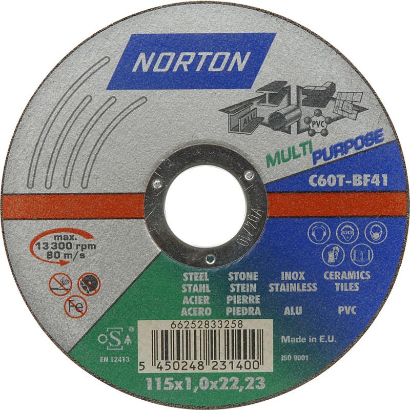 Norton Expert Multi Purpose Cutting Discs