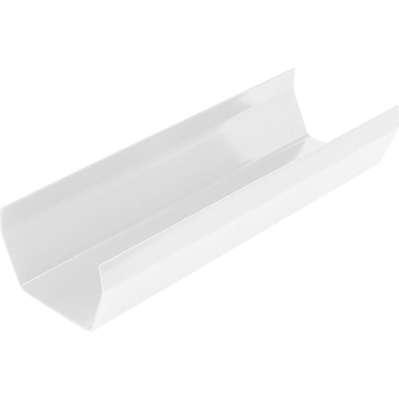 114mm Square Line Gutter 3m