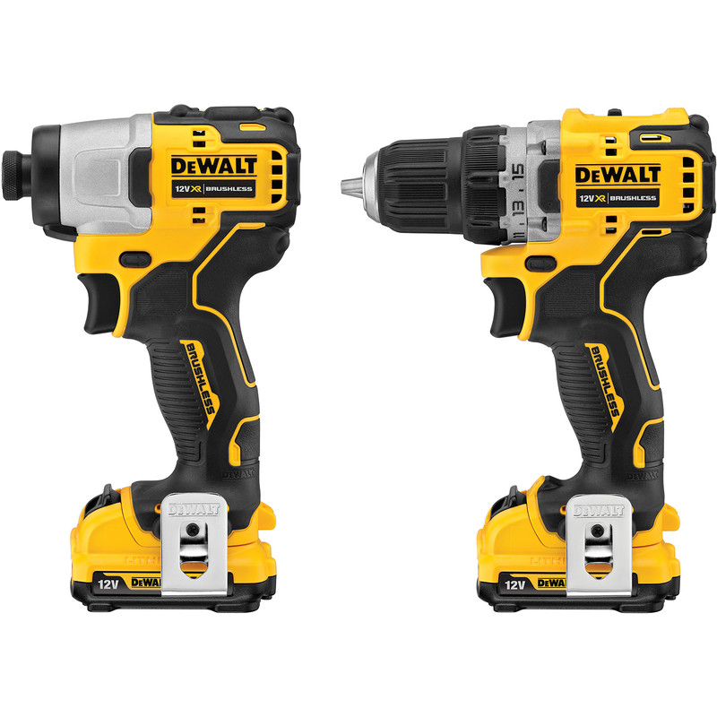 DeWalt DCK2110L2T-GB 12V XR Brushless Compact Twin Pack