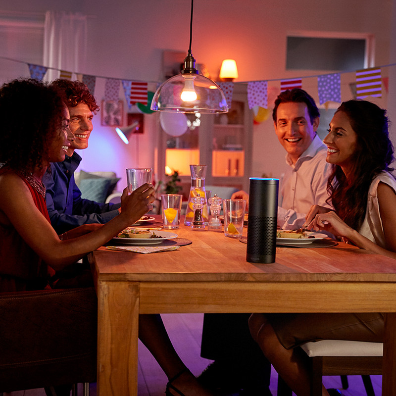 Philips Hue White and Colour Ambiance GU10 Lamp