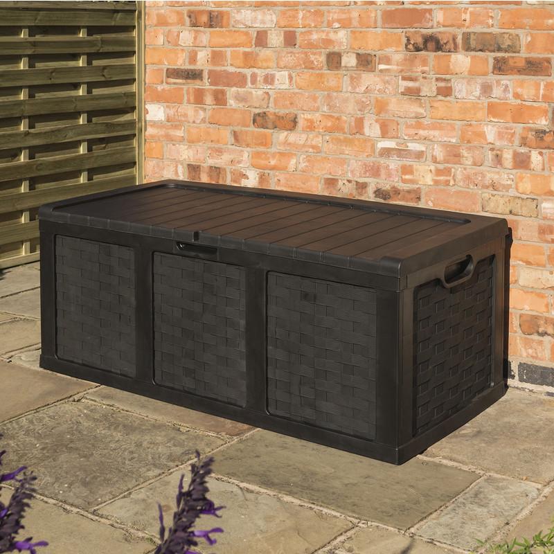 Rowlinson Plastic Storage Box - Graphite