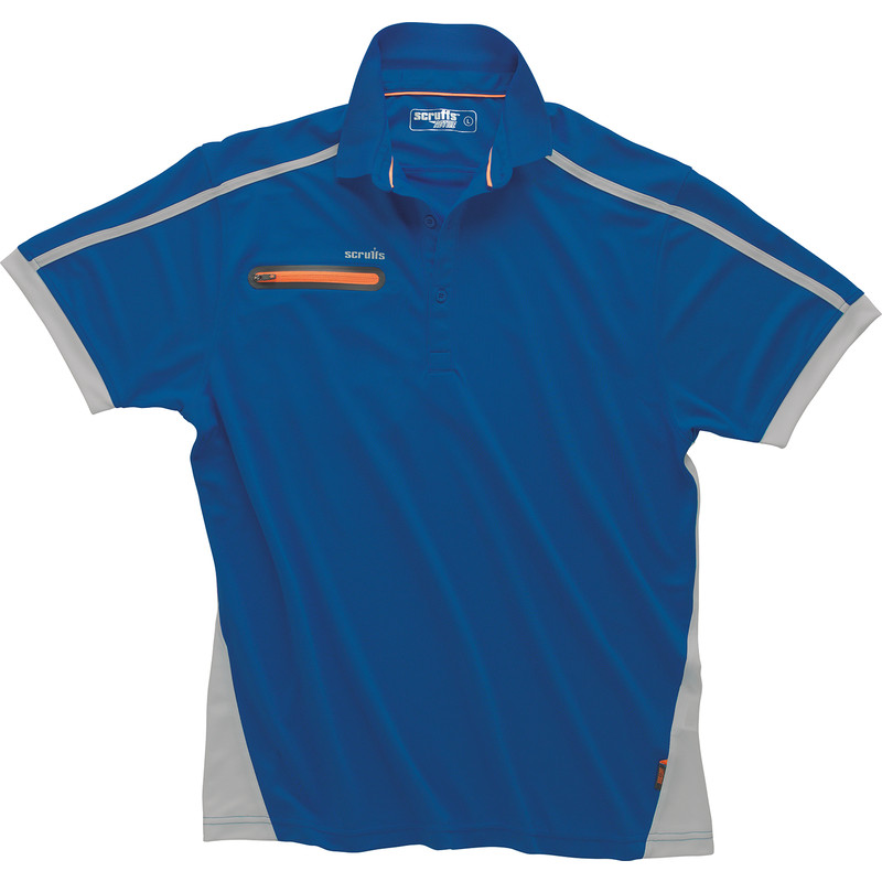 Scruffs Pro Active Zip Polo