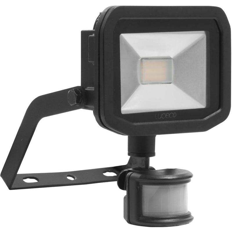 Luceco led ip44 pir slimline guardian floodlight 8w pir 600lm aloadofball Images