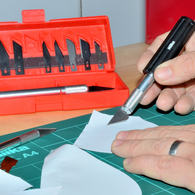 Hilka Hobby Knife & Blade Set