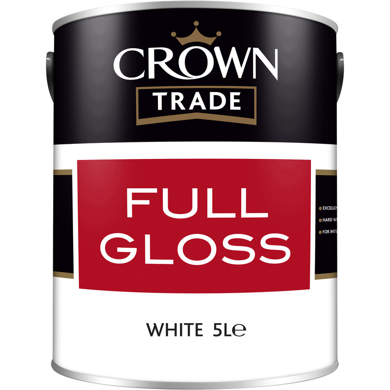 Crown Trade Full Gloss Paint 5L