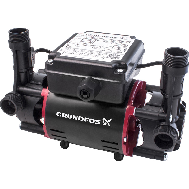 Grundfos STR2 Twin Regenerative Shower Pump