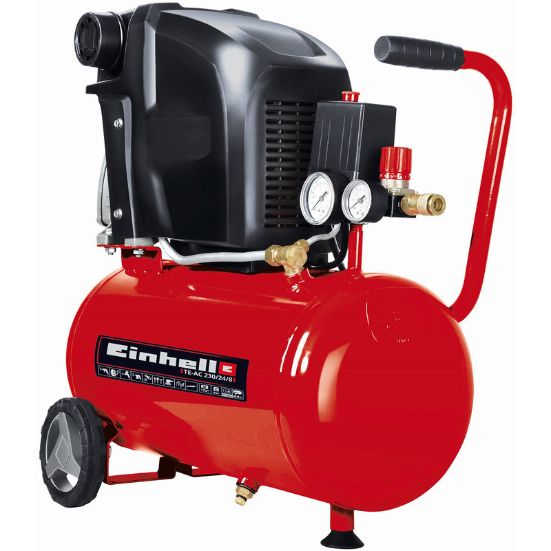 Einhell TE-AC 230/24/8 24L 2Hp Air Compressor