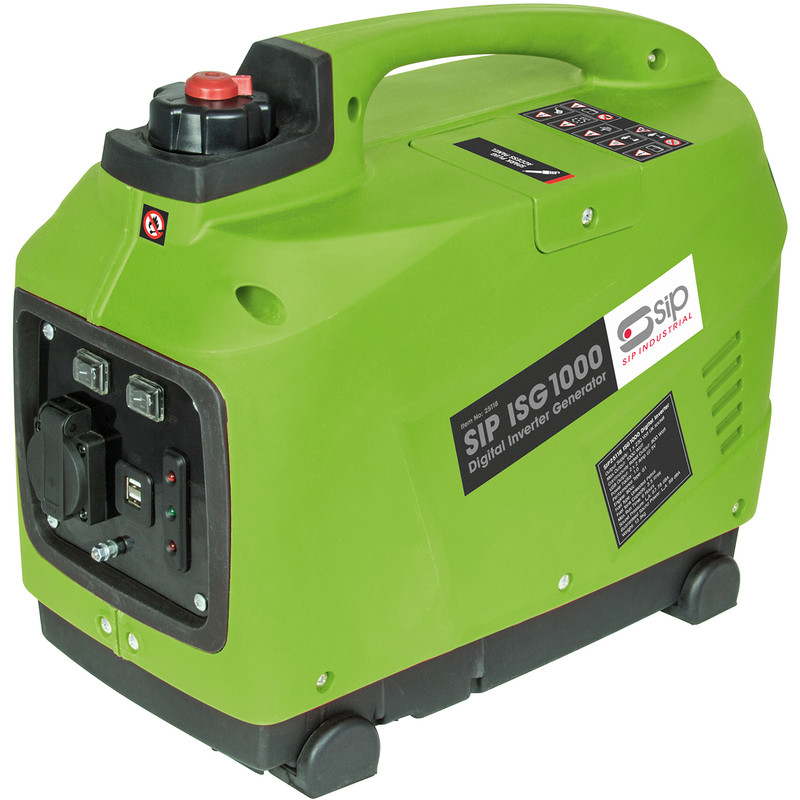 SIP ISG 60cc 1000W Digital Inverter Generator