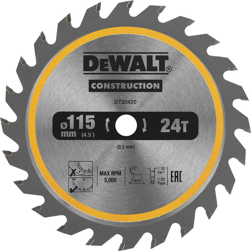 DeWalt TCT Circular Saw Blade