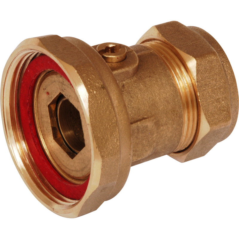 "Pump Valve 22mm x 1.1/2"" Ball"