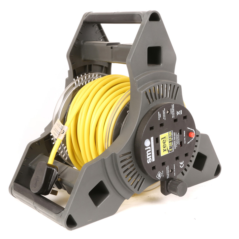 TRIPRO 25m 4 Socket 13A 240V Cable Reel