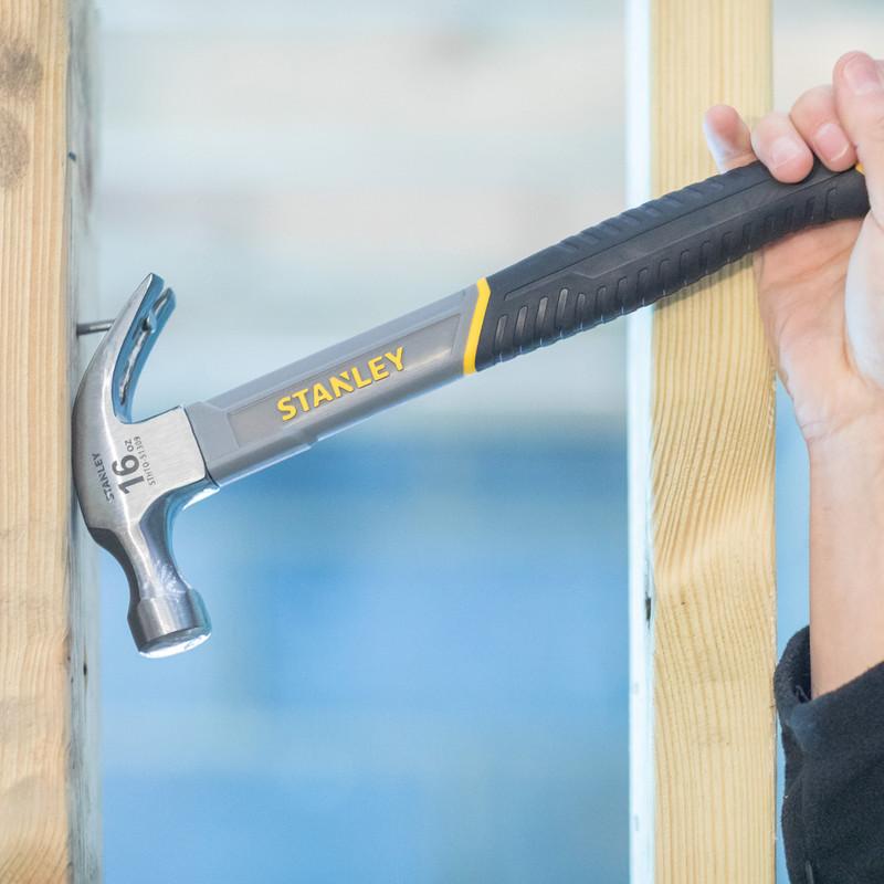 Stanley Fibreglass Claw Hammer