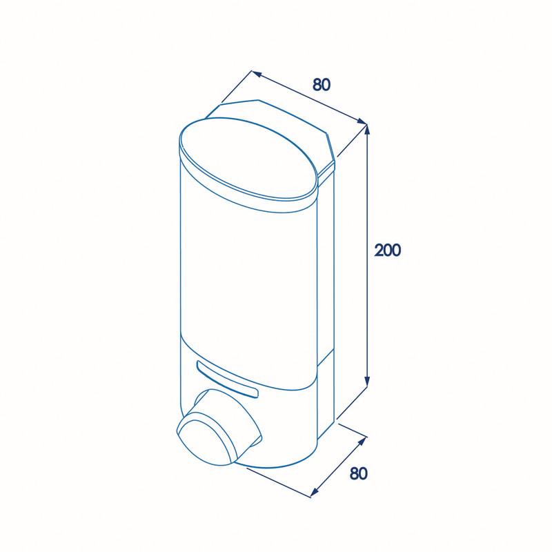 Croydex Euro Soap Dispenser