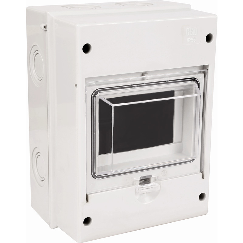 Weatherproof Moulded Enclosure For RCD/MCB