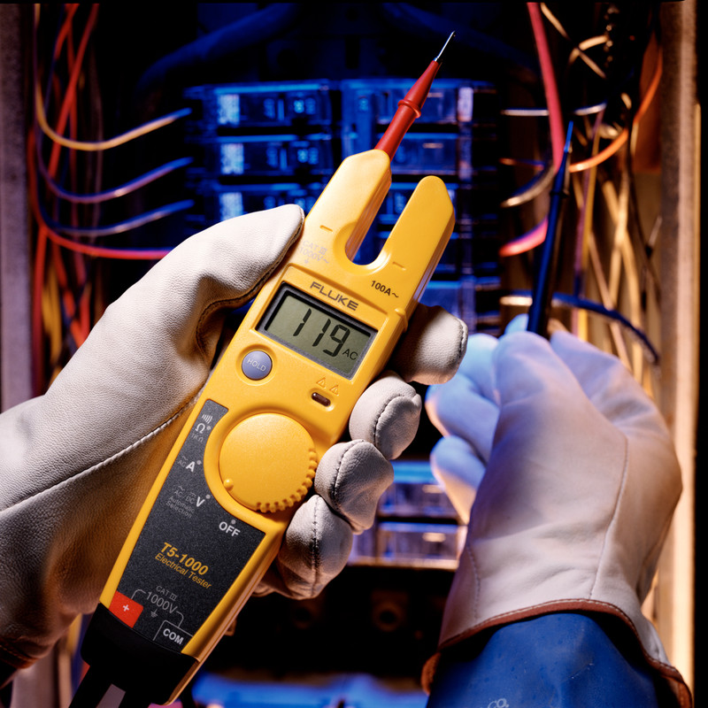 Fluke T5-1000 Open Jaw Electrical Tester