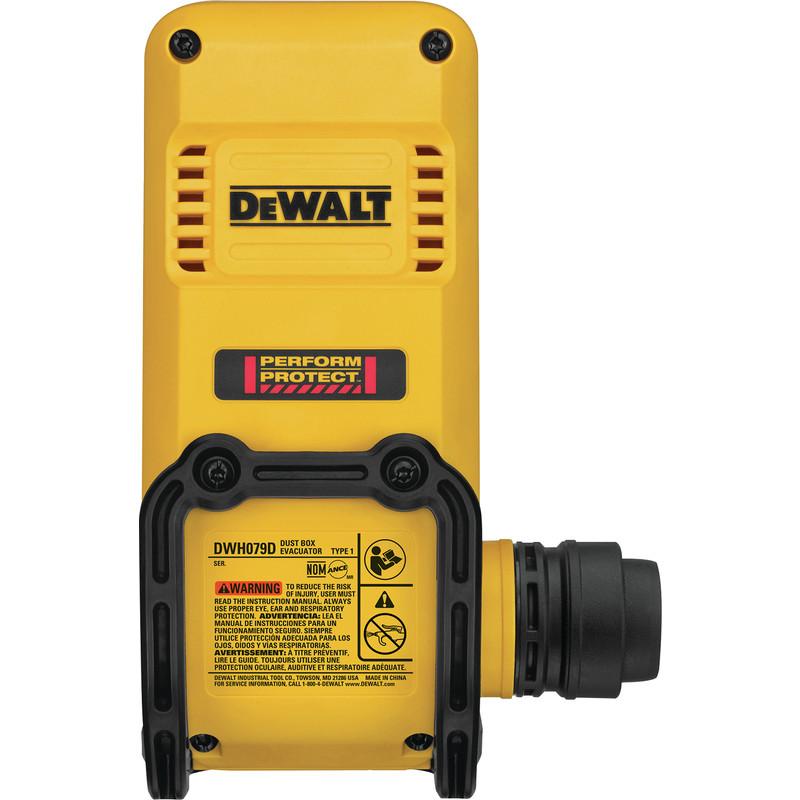 DeWalt DWH079D-XJ Dust Box Evacuator