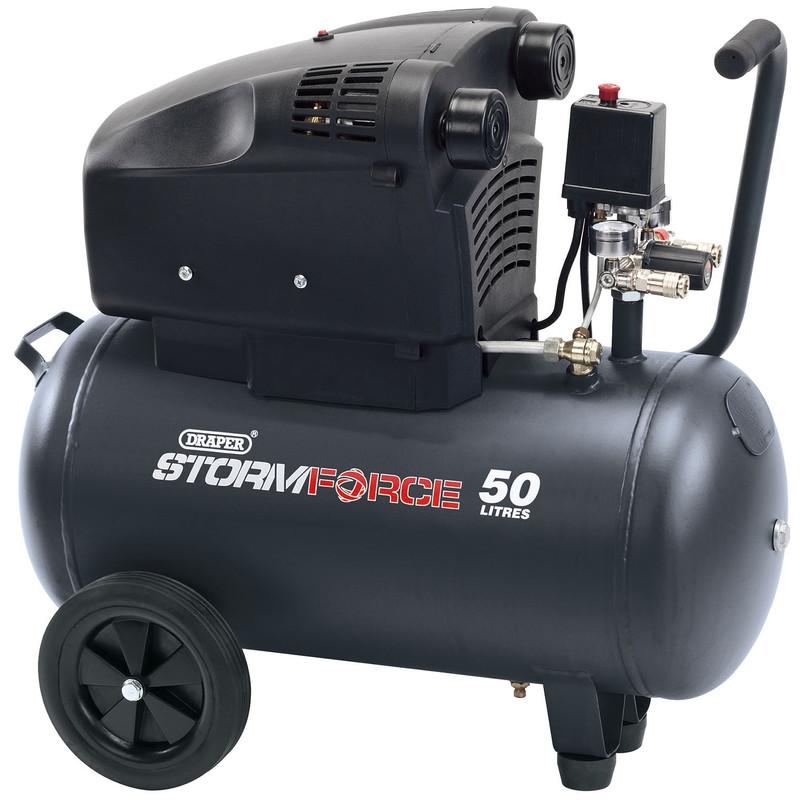 Draper 50L 1800W Air Compressor
