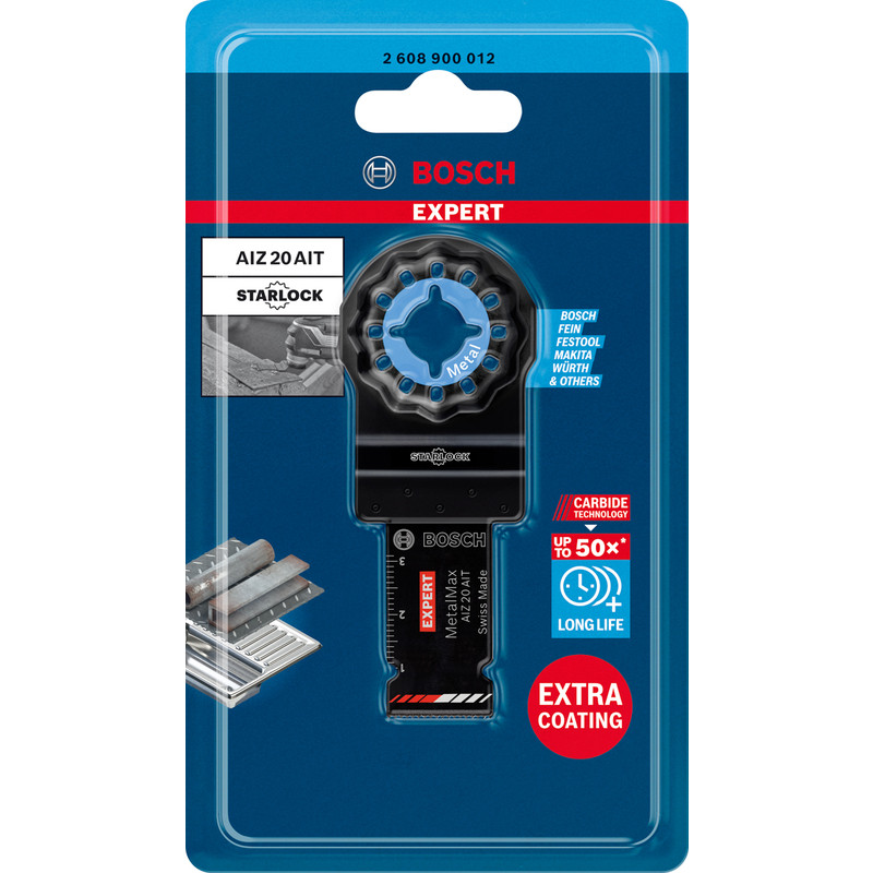 Bosch Starlock Carbide Plunge Cut Multi Tool Blade