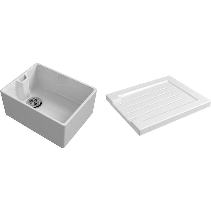 Reginox Traditional Belfast Ceramic Kitchen Sink & Drainer Accessory