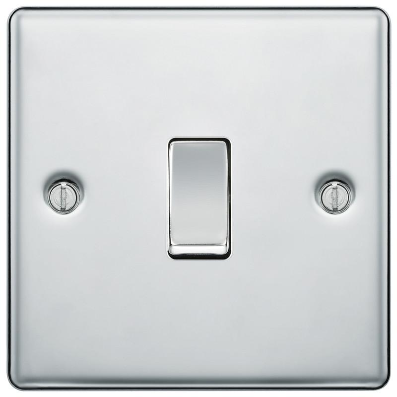 BG Polished Chrome 10A Switch
