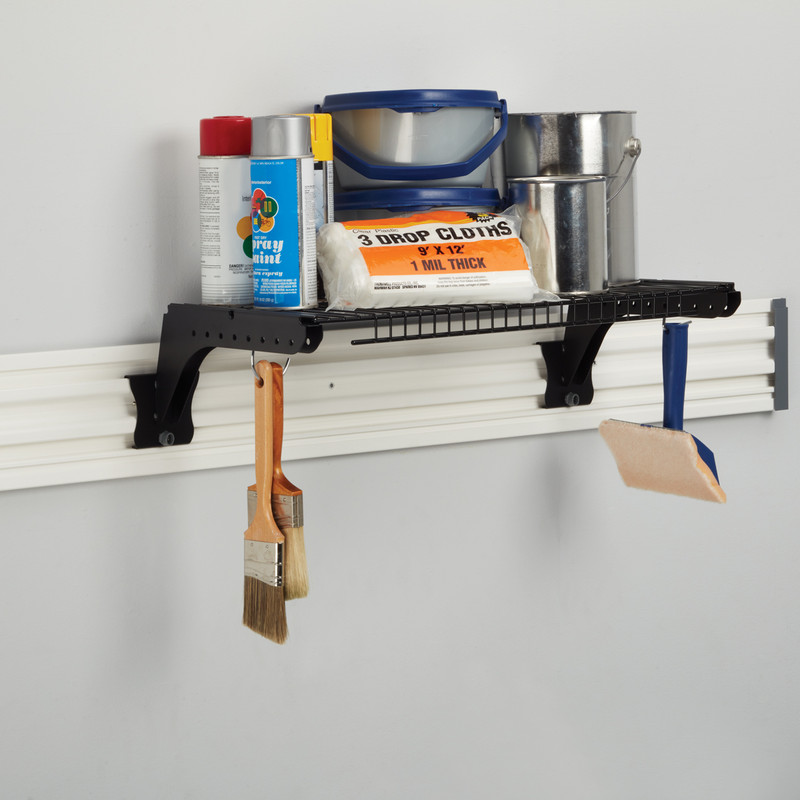 Stanley Track Wall System Wire Shelf