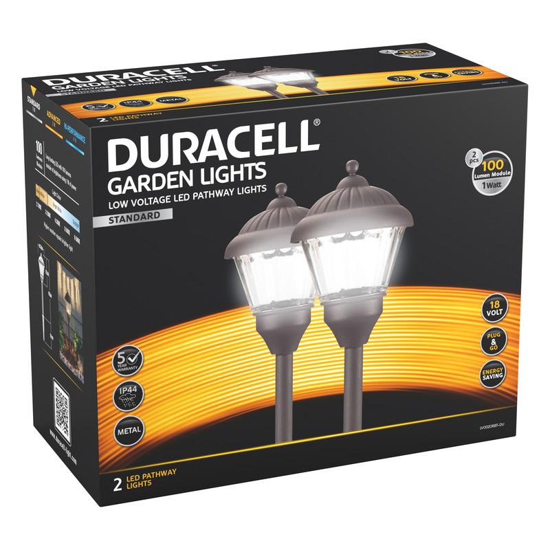 Duracell Lantern LV LED Garden Pathway Light IP44